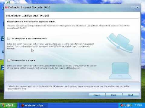 Bitdefender Internet Security 2010 review: Part 1