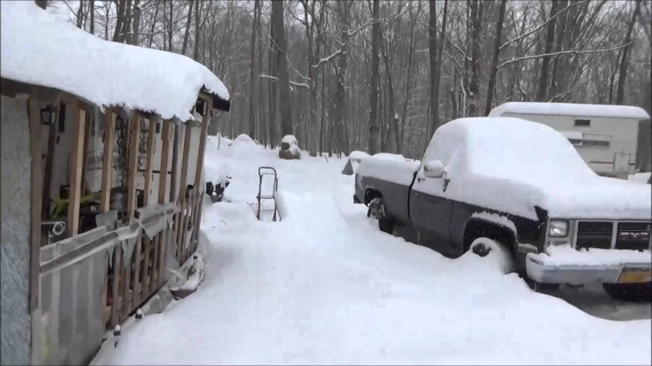 Digging out the off grid homestead after heavy snow youtube solutioingenieria Images