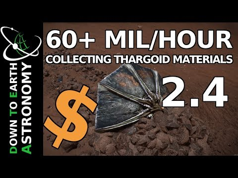 60+ MIL/HOUR - THARGOID MATERIAL COLLECTION