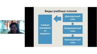 Планирование уроков в соответствии с учебной программой
