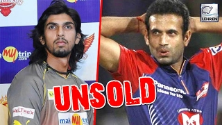 IPL Auction 2017: Irfan Pathan And Ishant Sharma Remain UNSOLD | Lehren News