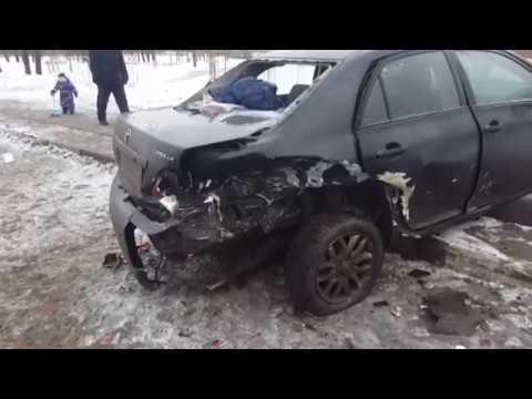 Авария в Москве 01 03 2016