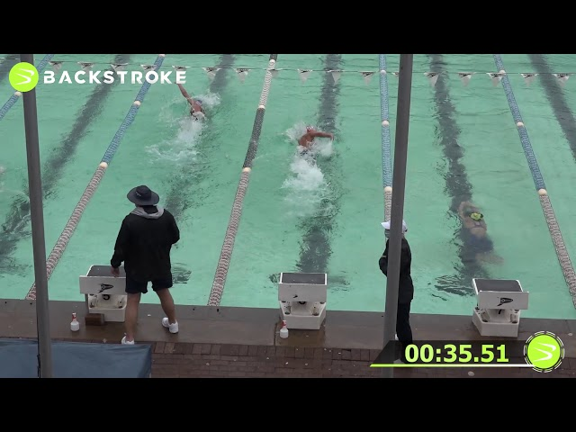#201 Mixed 100 LC Meter Freestyle Heat 15 of 15