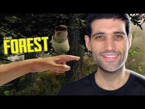 THE FOREST versão final - DESTRUÍMOS uma floresta INTEIRA