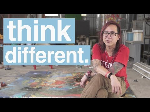 Think Different - Mark Lee Abstract Expressionism Artist
