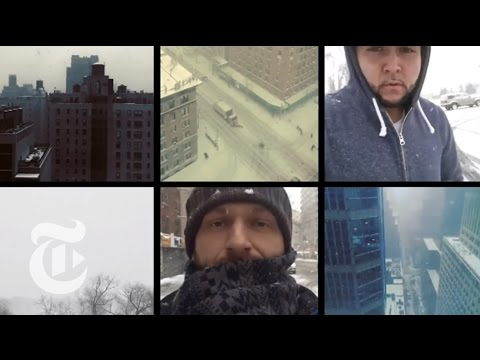 Winter Storm 2015 in New York on Instagram | The New York Times