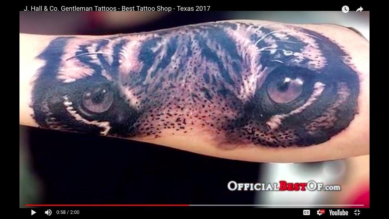 J. Hall & Co. Gentleman Tattoos - Best Tattoo Shop - Texas 2017 ...