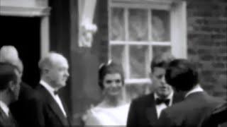 June 5, 1961 - President John F. Kennedy and Jacqueline leaving for Buckingham Palace, London