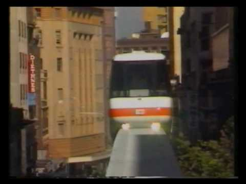 Sydney Monorail opening - Channel 10