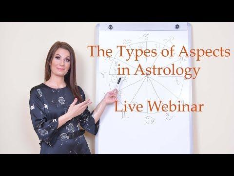 The Aspects in Astrology - Live Webinar