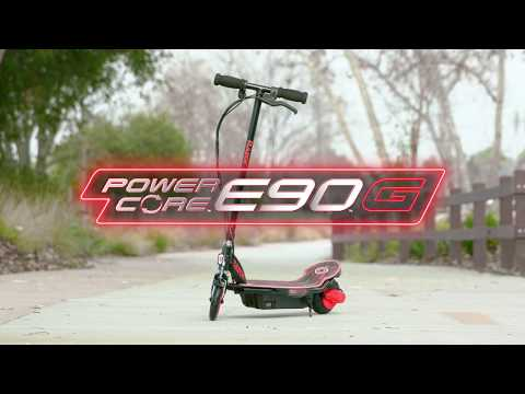 Новая светящаяся версия крутого детского электросамоката RAZOR Power Core E90 Glow! НОВИНКА 2019