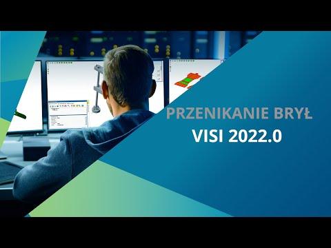 VISI 2022.0 | Przenikanie brył - Tutoria