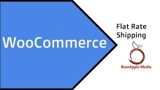 WooCommerce Flat Rate Shipping Option