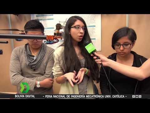 Bolivia Digital - Feria Tecnológica de Ingeniería Mecatrónica