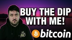 BUY THE DIP WITH ME - Bitcoin Meme Review