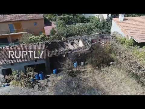 Portugal: Drone footage captures aftermath of deadly forest fires