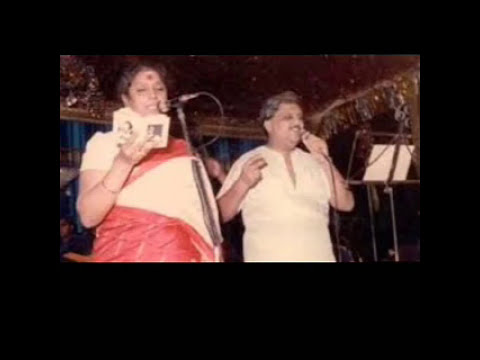 Nanna Hudugiyanna Kannada song ll A rare duet of Smt. S. Janaki and Dr. SPB.