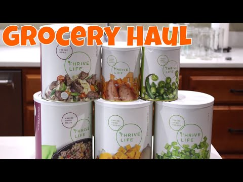 Feburary 2019 Thrive Grocery Haul With Linda's Pantry