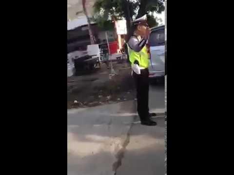 Miris Pejabat kena tilang malah bawa bawa nama TNI,