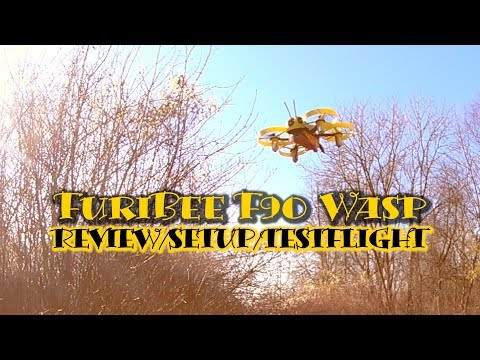 Furibee F90 Wasp - Micro FPV Quadcopter - Review - Setup - Test flight - deutsch - gearbest.com