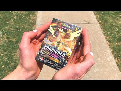 FORBIDDEN LIGHT PRERELEASE BOX OPENING! (early)