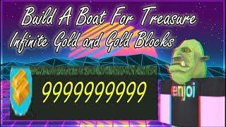 Roblox: Costruire una barca per tesoro inorridi oro e blocchi d'oro script