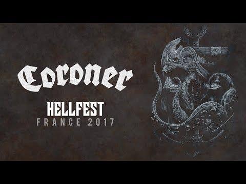 Coroner LIVE @ Hellfest 2017