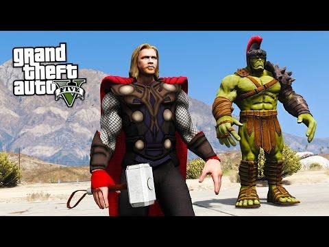 THOR: RAGNAROK!! (GTA 5 Mods)