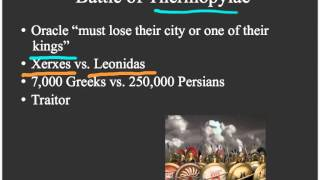 3.4 Persian and Peloponnesian Wars