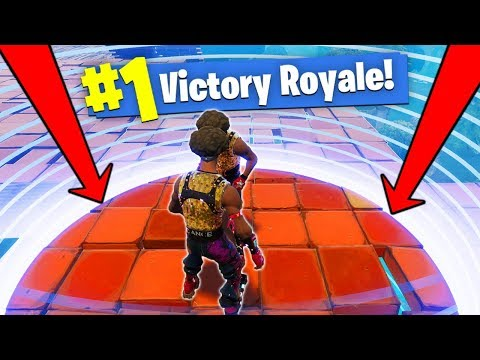 Winning In The SMALLEST Circle! [Fortnite]