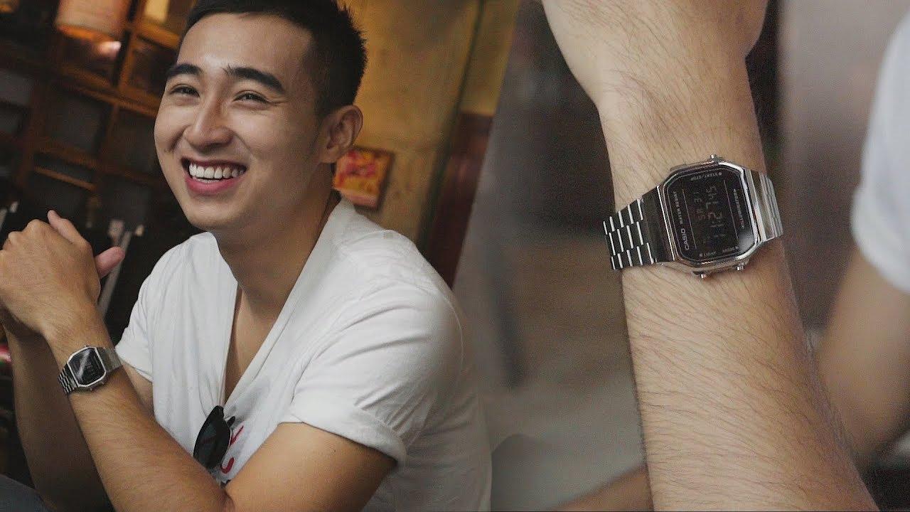 [LookBook] Casio nam điện tử dây kim loại dưới 2 triệu   Đồng hồ & Thời trang