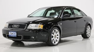 2004 audi a6 2 7t c5 s line quattro sedan