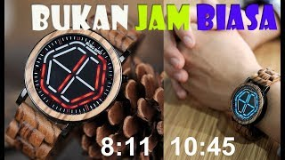 Download Video Jam Tangan KEREN !! DIJAMIN BEDA.. Bahan Kayu + LED Bobo Bird Original MP3 3GP MP4