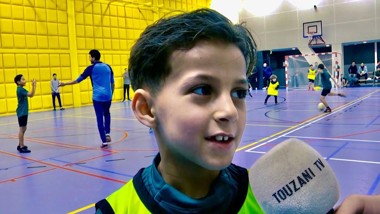 Touzani school Rotterdams toptalent vs Belgisch toptalent