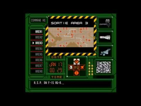 Let's Play Air Strike Patrol / Desert Fighter First Mission SNES