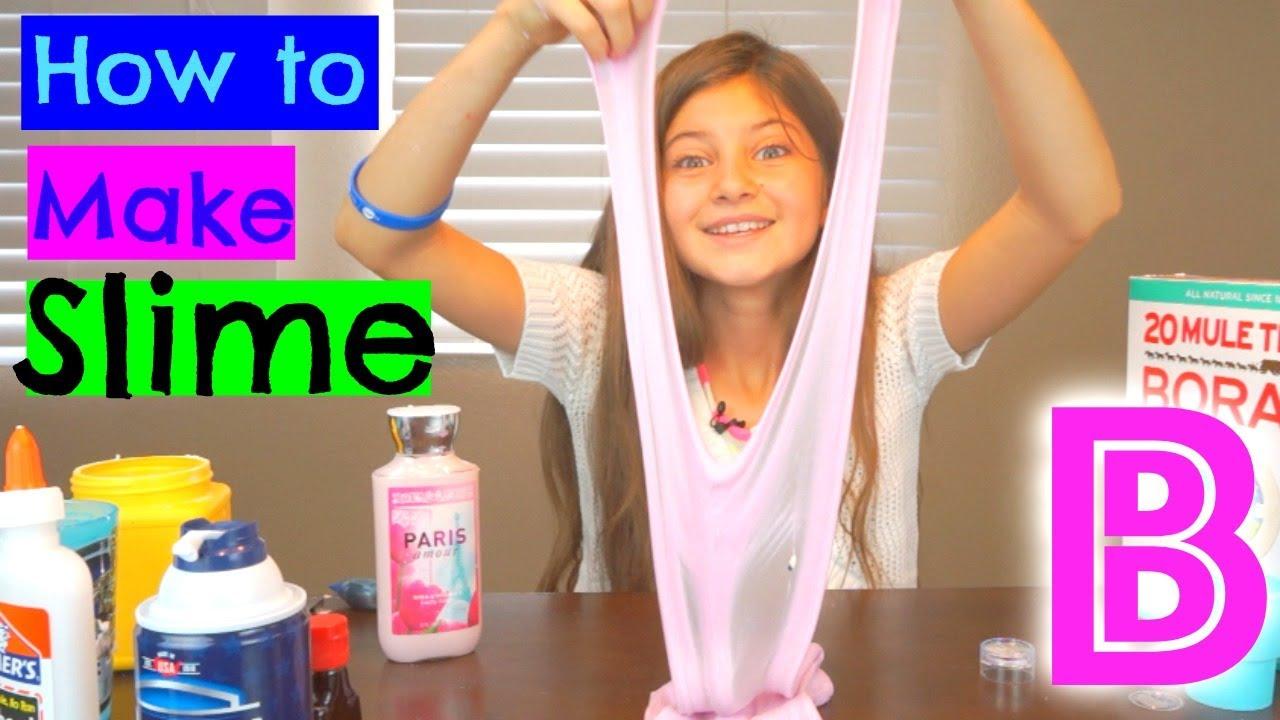 how to make slime fail