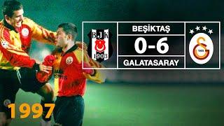 Nostalji Maçlar | Beşiktaş 0 - 6 Galatasaray ( 18.07.1997 )