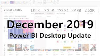 Power BI Desktop Update - December 2019