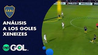 Los goles del Patronato - Boca