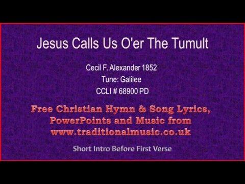 Jesus Calls Us - Hymn Lyrics & Music