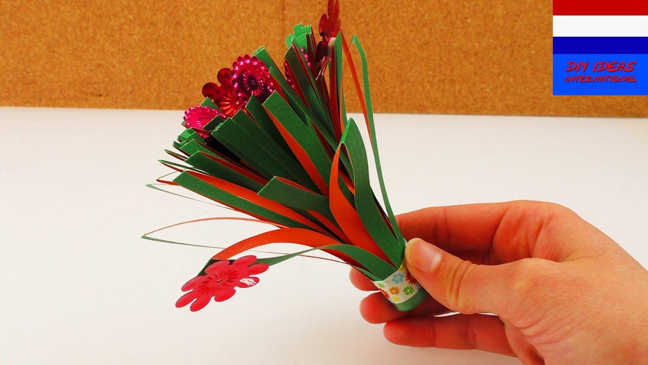 Top Zelf kleine bloemenruiker maken | cadeau-idee voor Moederdag of #YU26