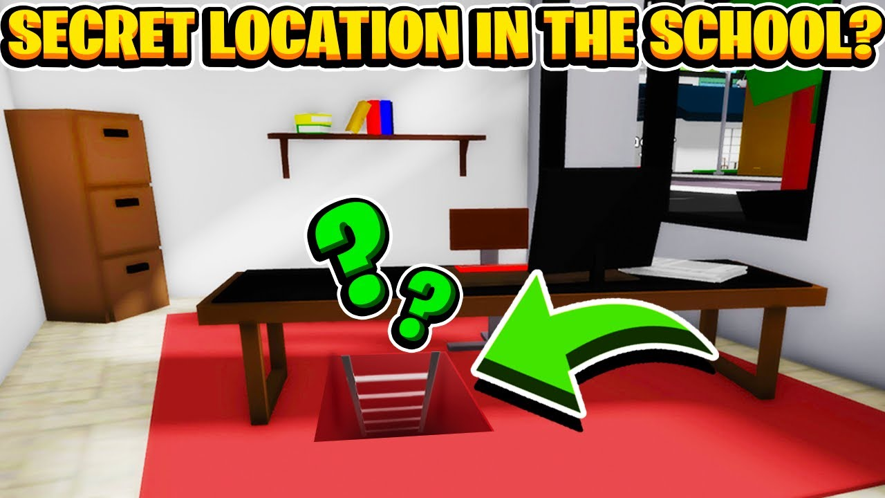 Download Is There a Big Secret hidden in The School In Roblox Brookhaven RP