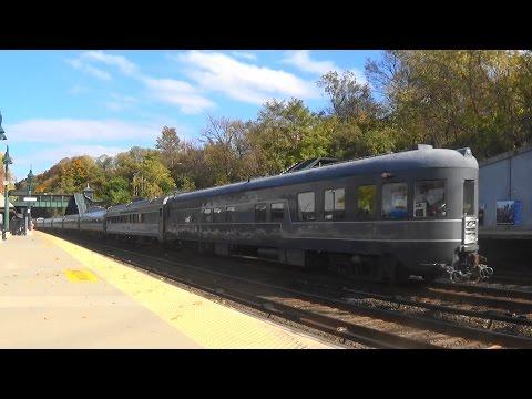Metro North Saturday Morning Railfanning At Dobbs Ferry (Read Desc)