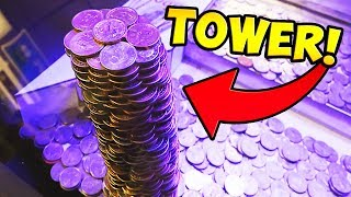 Download Coin Pusher    WINNING HUGE TOWER OF GOLD COINS! Mp3 and Videos