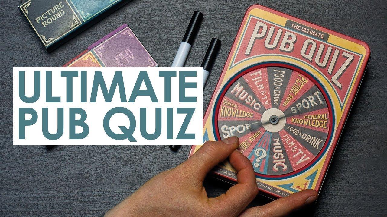 The Ultimate Pub Quiz | Paladone