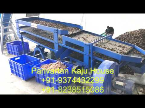Automatic Cashew Scooping Machine by Parivartan Kaju House