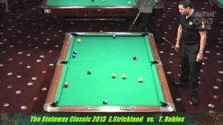 Earl Strickland v Tony Robles at the Steinway Classic 2013