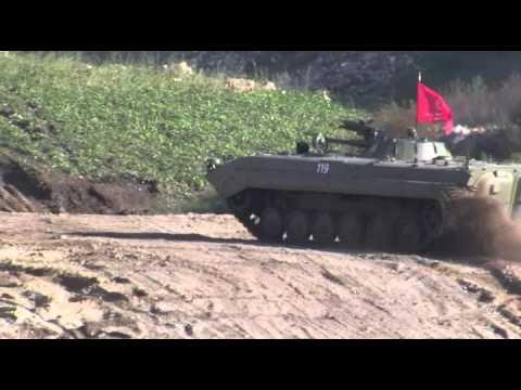 BMP-1 fahren macht gute Laune