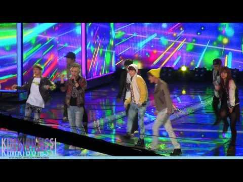 [HD fancam] 130331 SBS K-POP STAR2 SHINee with Andrew Choi - 아름다워 (Beautiful)