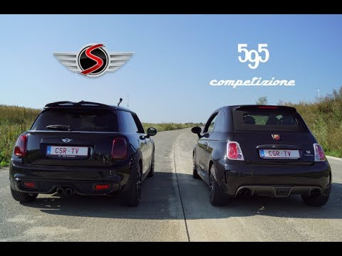 MINI Cooper S VS Fiat Abarth 595 Competizione
